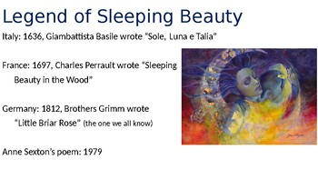 Anne Sexton's Sleeping Beauty poem with Creative Analysis
