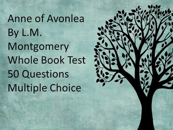 Anne of Avonlea Whole Book Test