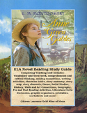 Anne of Green Gables ELA Novel Reading Study Guide Complete!