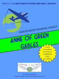 Anne of Green Gables Independent Reading/Small Group Packet