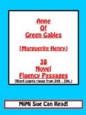 Anne of Green Gables (L.M. Montgomery) 38 Novel Fluency Passages