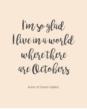 Anne Of Green Gables Quotes | Anne Of Green Gables Poster Literary Quote By A Sea Of Sunshine