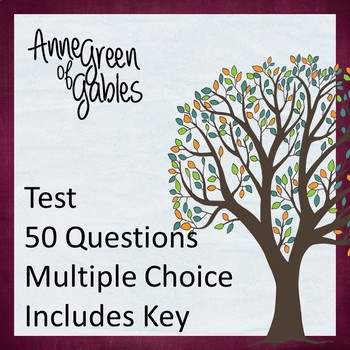 Anne of Green Gables Test
