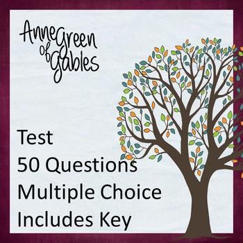 Anne of Green Gables Test (Editable)