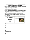 Anne of Green Gables Word Wall Activity
