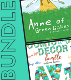 Anne of Green Gables by Mariah Marsden Novel Study and Com