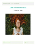 Anne of Green Gables story cards - homeschool - prep to two
