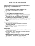 Annelida Earthworm Dissection Protocol, Project, and Checklist