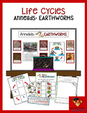 Annelids: Earthworms (Life Cycle Pack)