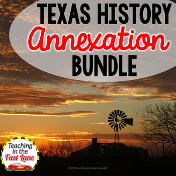 Annexation of Texas Bundle