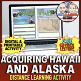 Annexing Hawaii and Alaska Activity
