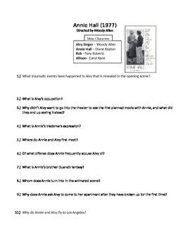 Annie Hall Film Questions