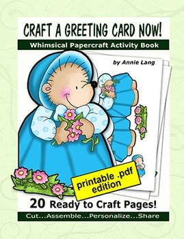 Annie Lang's Craft a Greeting Card Now!