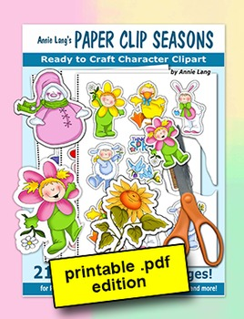 Annie Lang's Paper Clip Seasons
