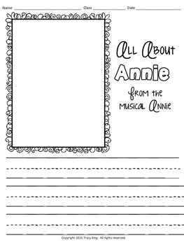 Annie MEGA Pack of Activities