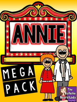 Annie MEGA Pack of Activities