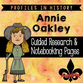Annie Oakley Guided Research Activity