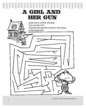 Annie Oakley: Reading and Math Comprehension Unit for Grades 1–3