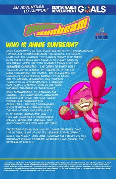 Annie Sunbeam and Friends Protecting Life Below Water Comic Book