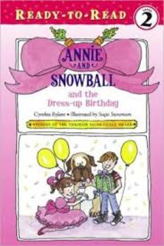 Annie and Snowball and he Dress up Birthday