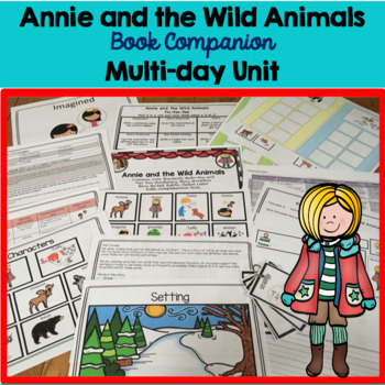 Annie and the Wild Animals Book Companion 4 day lesson plan