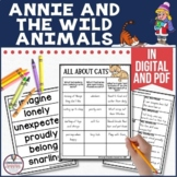 Annie and the Wild Animals Guided Reading Set in Digital and PDF Formats