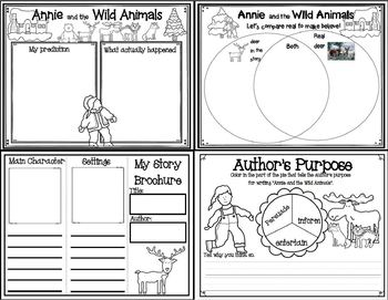 Annie and the Wild Animals by Jan Brett (Book Companion)