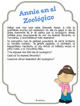 Annie en el Zoologico!