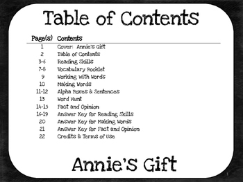 Annie's Gift  2nd Grade Harcourt Storytown Lesson 17
