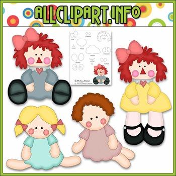 Annie's Dolls Cutting File & Clip Art - Cheryl Seslar Clip Art