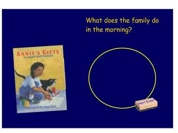 Annie's Gifts SmartBoard Comprehension file