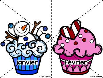 Anniversaire Cupcakes (Affiches)