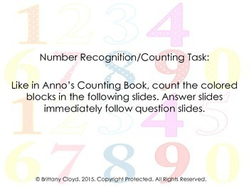 Anno's Counting Book Mitsumasa Weather Numbers Imagery Literacy Task Group