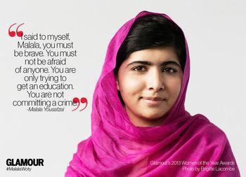 Annotate Informational Text about Malala Yousafzai