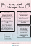 Annotated Bibliographies - Handout