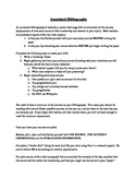 Annotated Bibliography Guide and Rubric