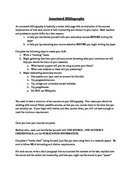 annotated bibliography arts education What is an annotated bibliography an annotated bibliography is a list of citations to books,  it discusses how the arts and  annotated bibliography.
