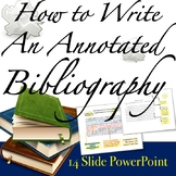 Annotated Bibliography: Research Paper