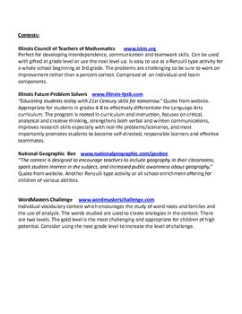 Annotated Bibliography of Resources For Working With Children of High Potential