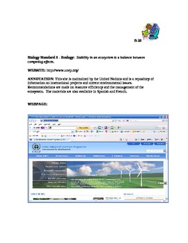 Annotated Biology Websites