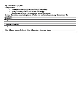 Annotated Close Reading Template