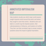 Annotated Imperialism Map