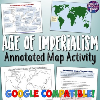Imperialism Annotated Map Activity