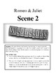 Annotated Romeo & Juliet Act FOUR