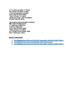 Annotated Song Lyrics: Biography