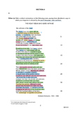 H1/8811 LITERATURE IN ENGLISH: Annotated copy of NYJC 2015