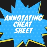 Annotating Cheat Sheet