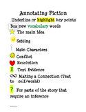 Annotating Fiction Poster