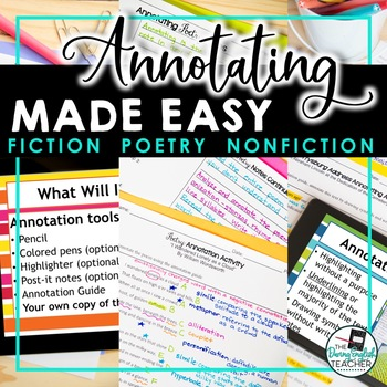 Annotating Made Easy BUNDLE