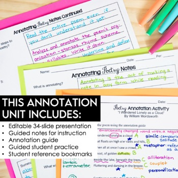 Annotating Made Easy POETRY